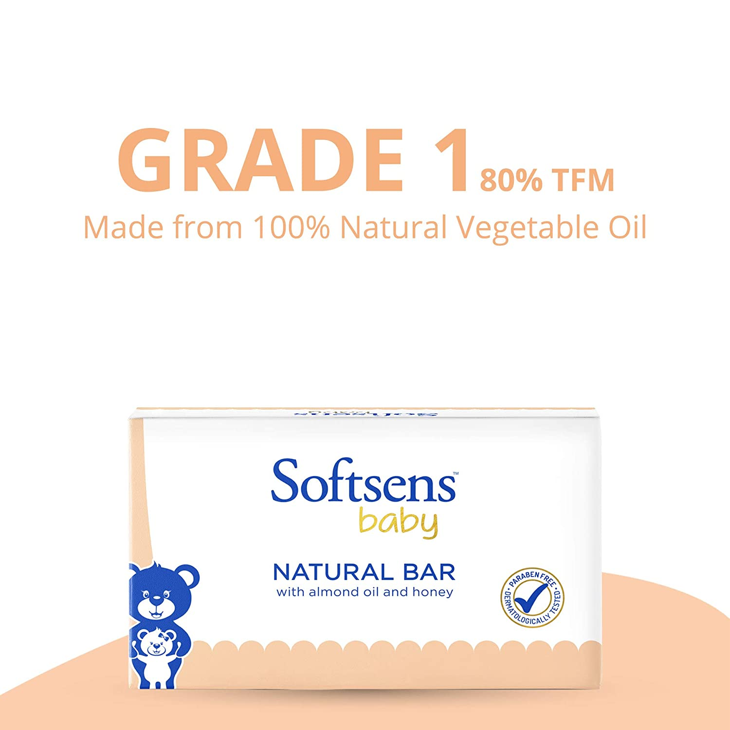 Natural Bar Soap (Multipack 100gx3) Pack of 2