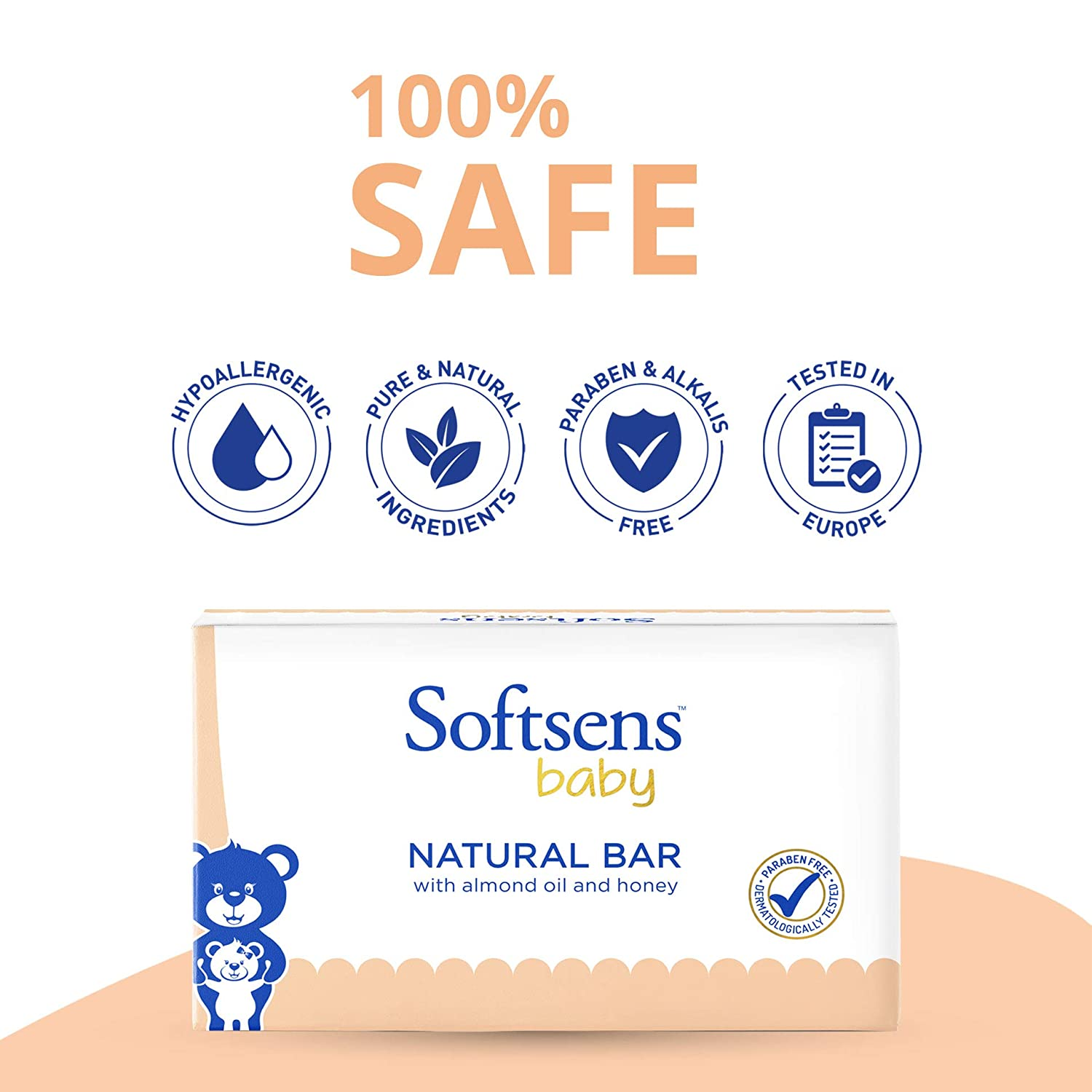 Natural Bar Soap 75gm Buy 4 Get 2 Free