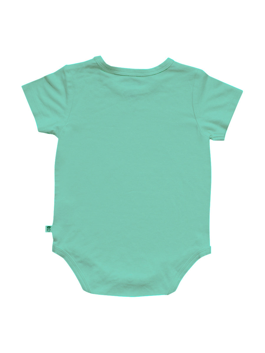 Ice Green Bamboo Romper