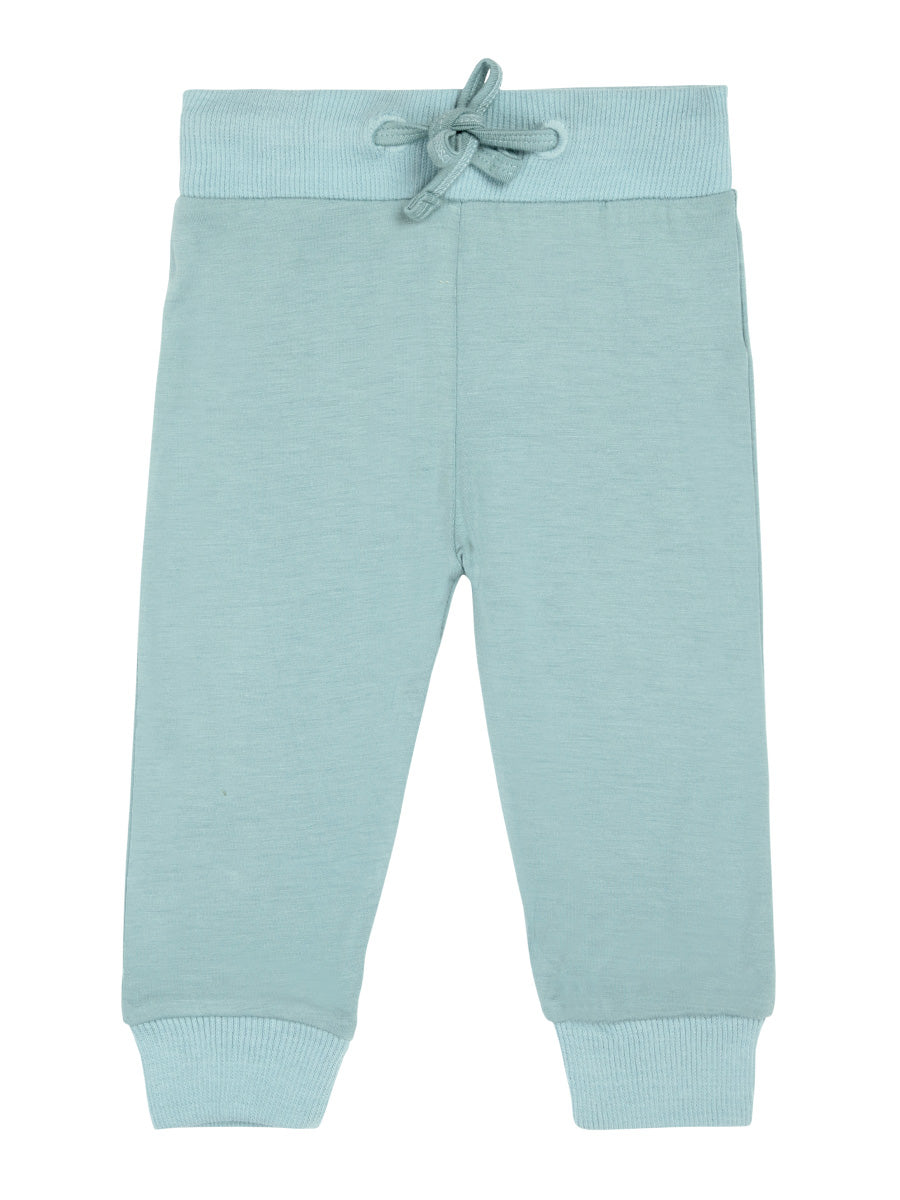 Softsens Aquifer Teal Short-Sleeved Soft Bamboo Top & Bottom Set