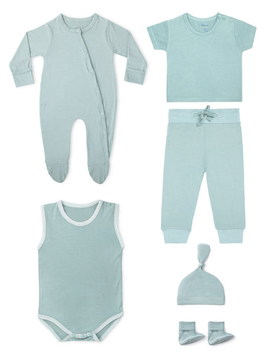 Bamboo Gift Set in Aquifer Teal