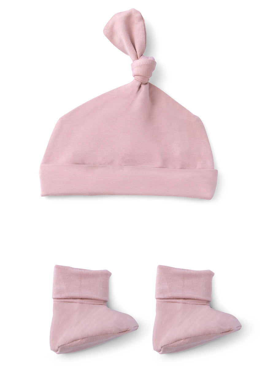 Softsens Bamboo Gift Set in Coral Blush