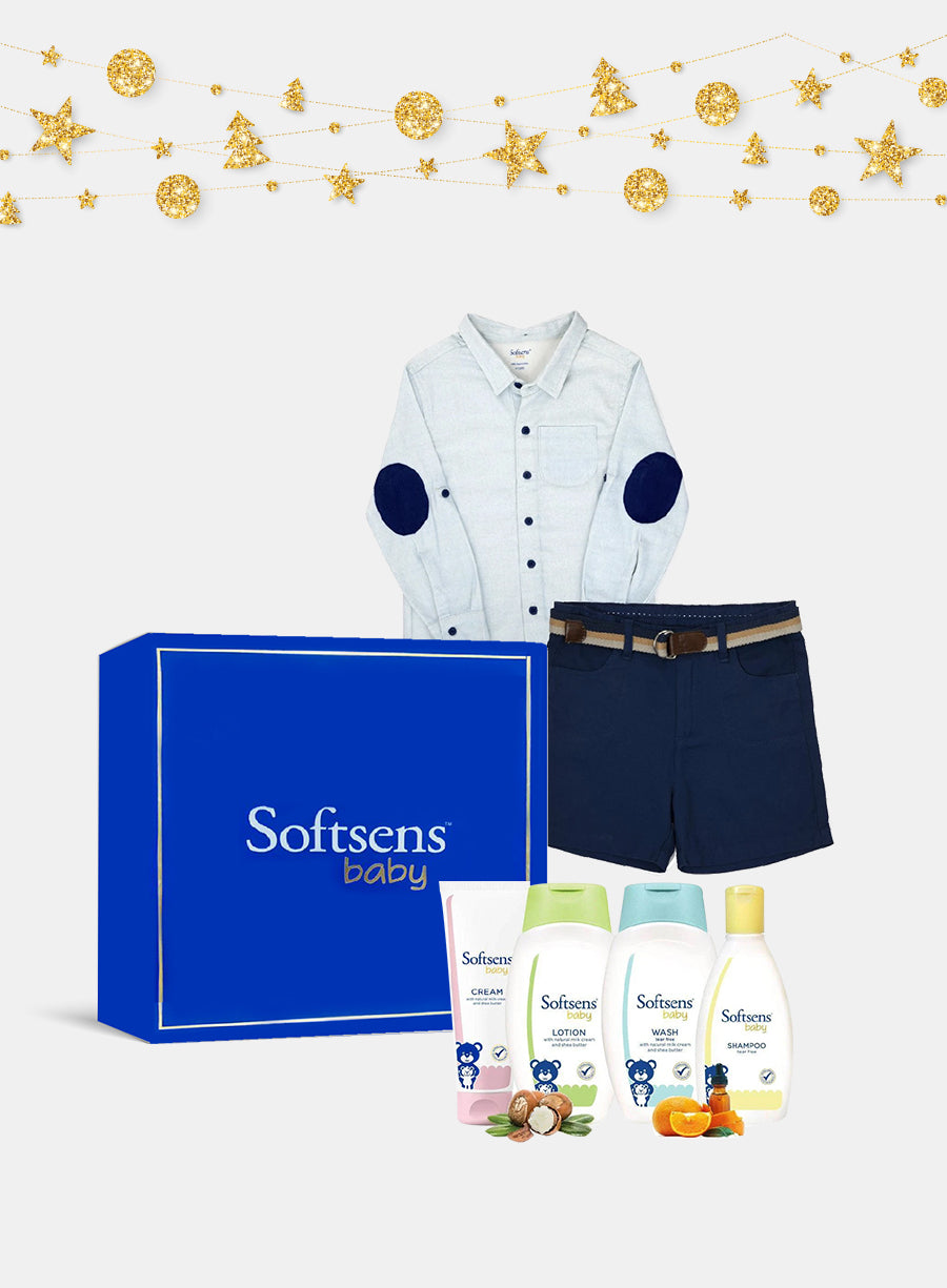 Boys in Blue Gift Box for Kids