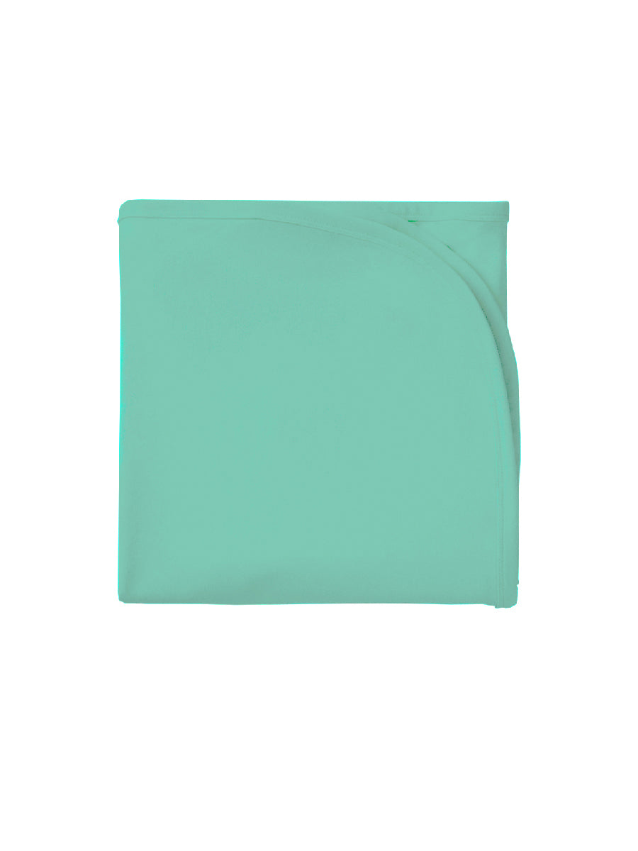 Ice Green Bamboo Stretch Swaddle