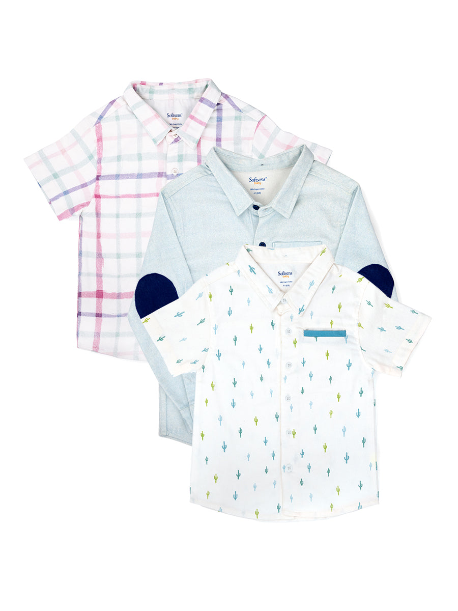 Pack of 3 Polo Shirts