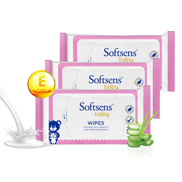 Baby Skin Care Wipes (20's pack of 3)