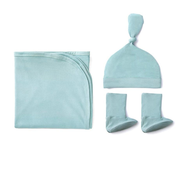 Aquifer Teal Cozy Bamboo Essentials Kit-Bamboo Essentials-Softsens
