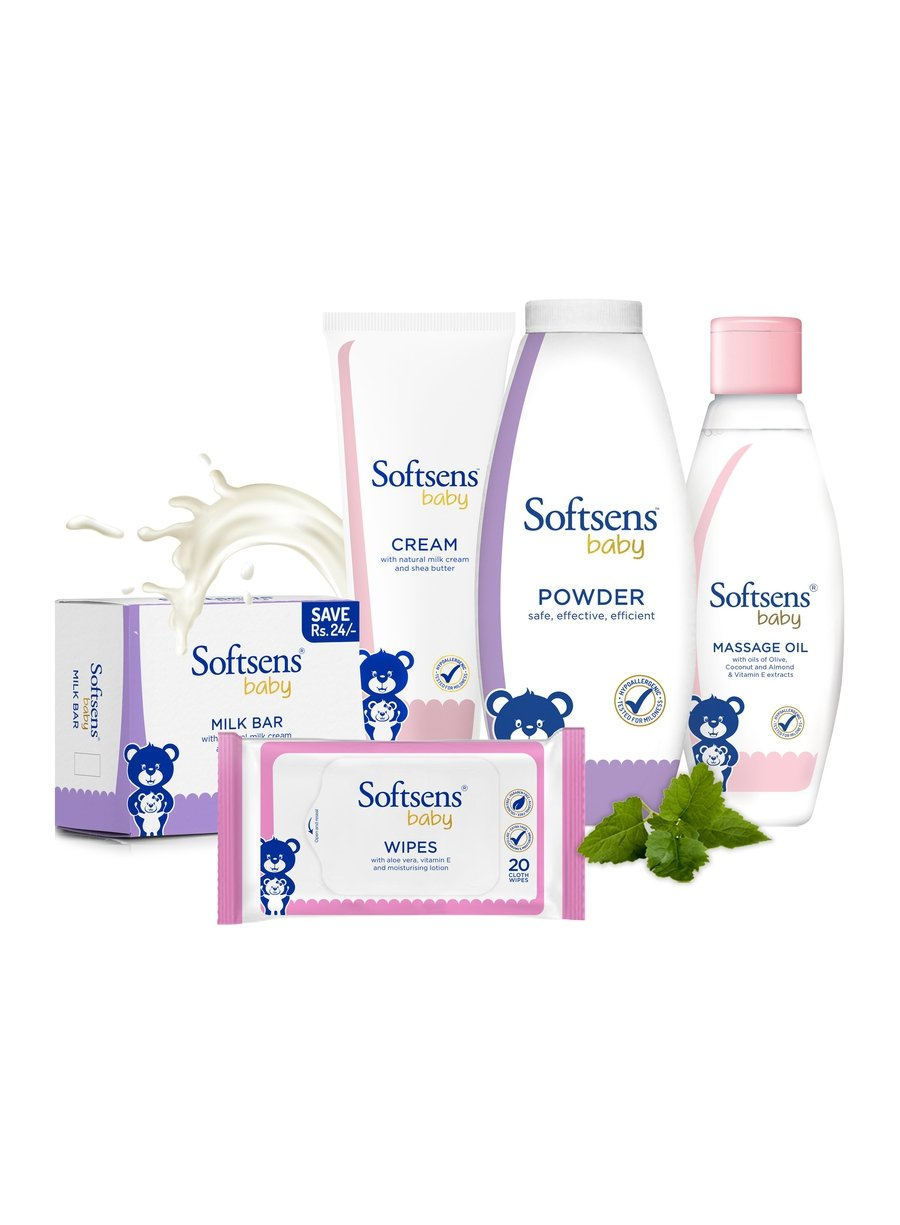 Baby Travel Essentials Kit-Bath & Body-Softsens