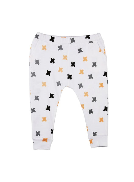 Criss Cross Unisex Soft Jersey Knit Pants-Baby Clothing-Softsens