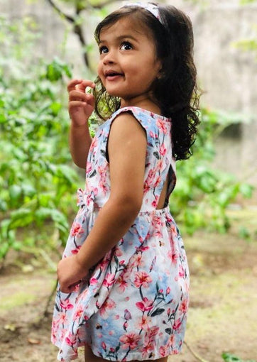 Fairy Garden Organic Cotton Dress