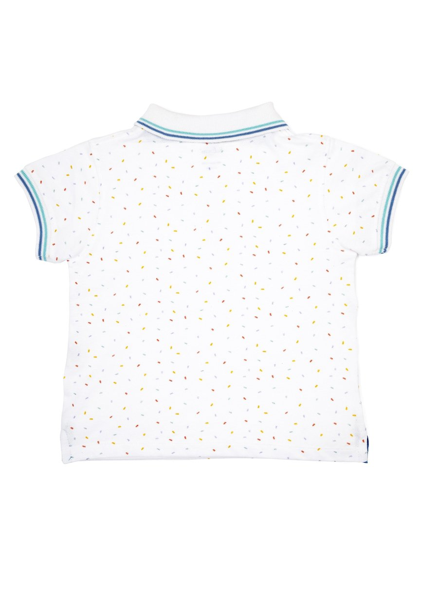 Good Vibes Pique Polo Tee-Kids Clothing-Softsens