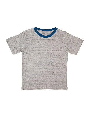 Gritty Gray Unisex Soft Slub Jersey Tee-Kids Clothing-Softsens