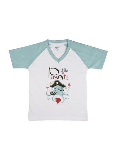 Little Pirate Soft Jersey Tee-Kids Clothing-Softsens
