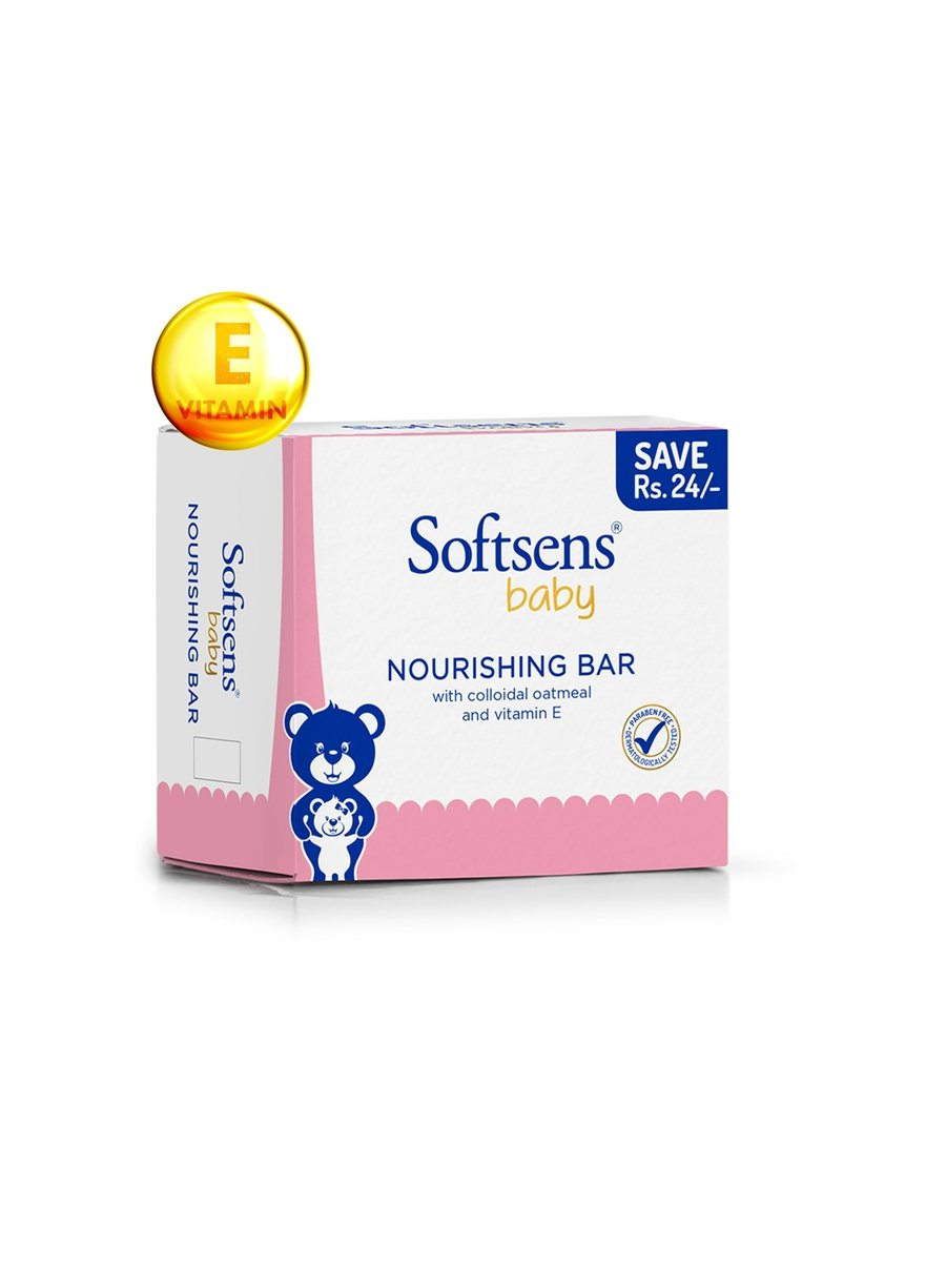 Nourishing Baby Bar Soap Multipack (100gx3) Pack of 2-Bath & Body-Softsens