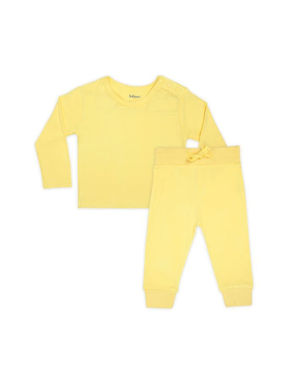 Pineapple Slice Bamboo Top & Bottoms-Baby Clothing-Softsens