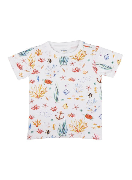 Sea Life Unisex Soft Jersey Tee-Kids Clothing-Softsens