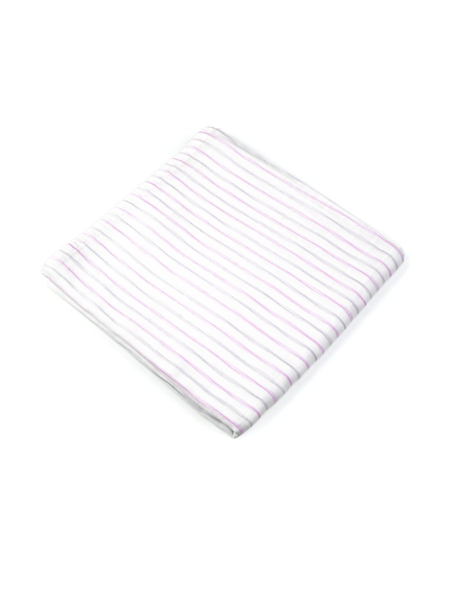Simply Stripes Organic Muslin Swaddle-Muslin Essentials-Softsens