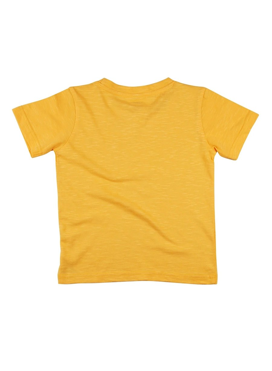 Summer Vibes Soft Slub Jersey Tee with Pocket-Kids Clothing-Softsens