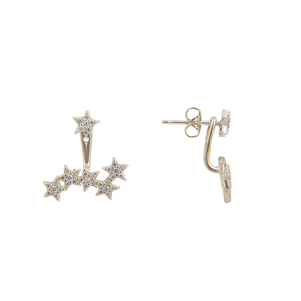 Starburst Two-Way Earrings