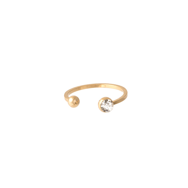 Open Top Circle Ring