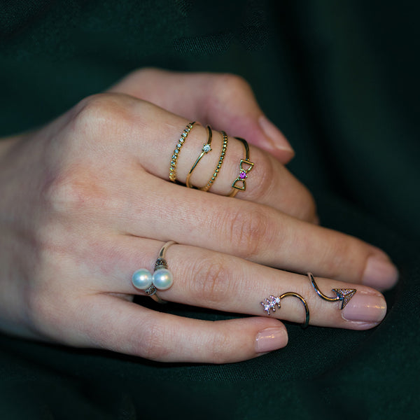 Arrow Midi Ring