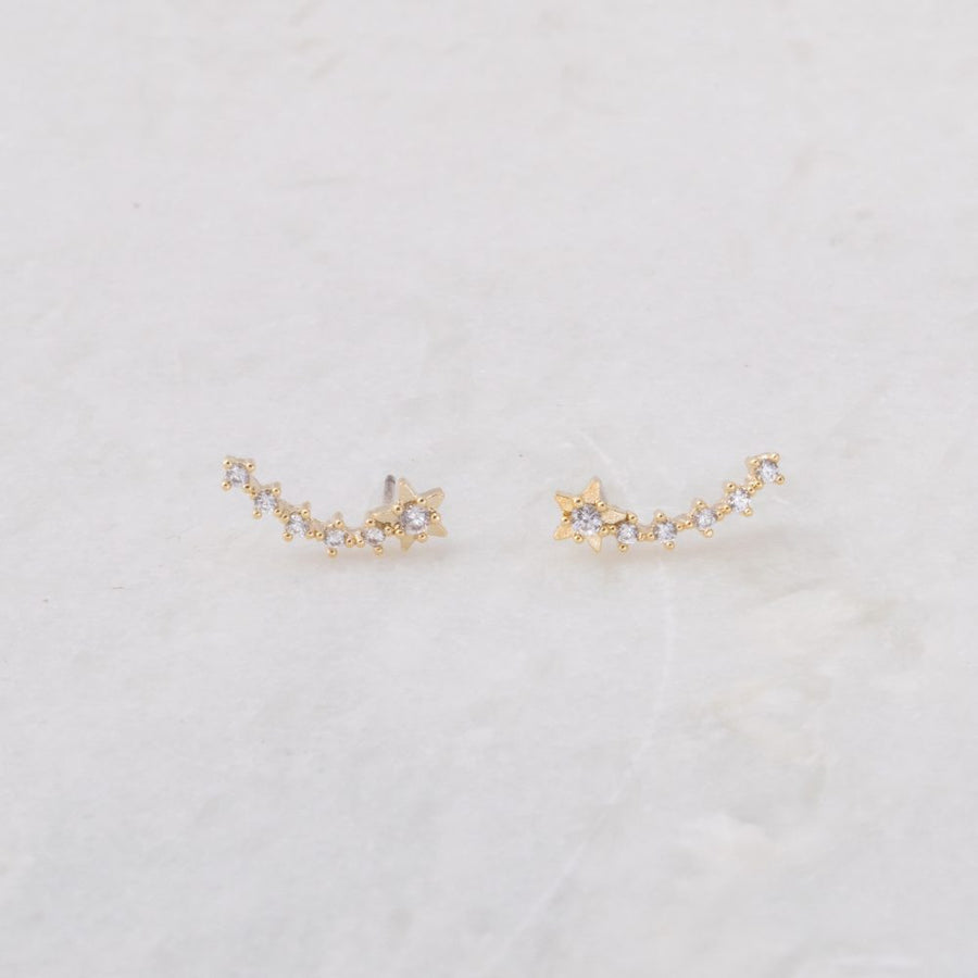 Shooting Star Stud Earring