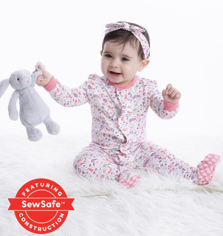 Beatrix Floral Magnetic Footie