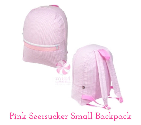Seersucker Small Backpack (click for more colors)