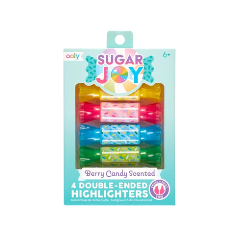Sugar Joy Double-Ended Highlighters (scented)