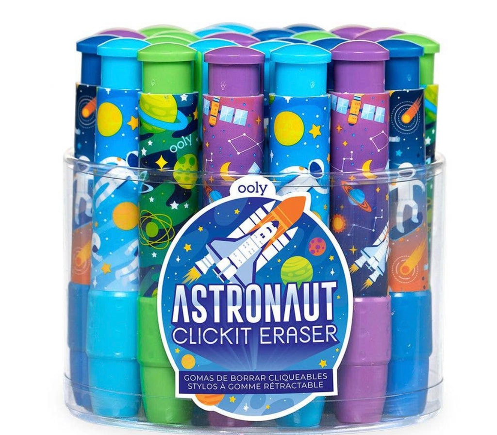 Click It Erasers: Astronaut