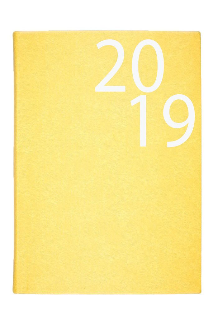 MUNUM PLANNER YELLOW - ENGLISH VERSION