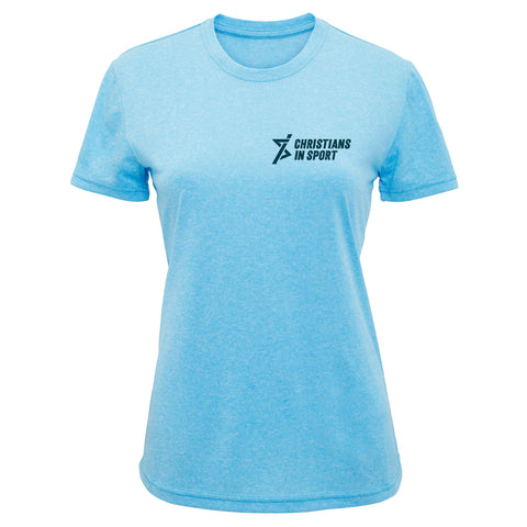 Ladies Performance T-Shirt | Aqua
