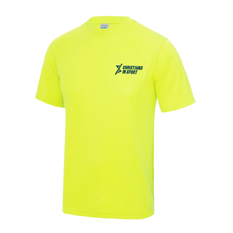 Mens T-Shirt | Electric Yellow