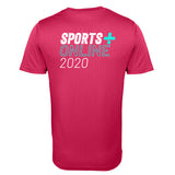 Sports Plus Online 2020 Mens T-Shirt | Pink