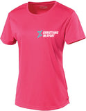 Sports Plus Online 2020 Ladies T-Shirt | Pink