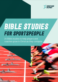Bible Studies for sportspeople