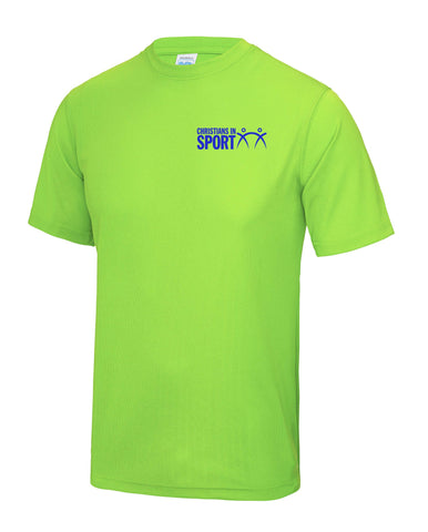 Sports Plus 2017 Mens T-Shirt | Electric Green