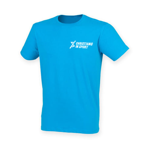 Sports Plus 2019 Cotton T-Shirt | Sapphire Blue