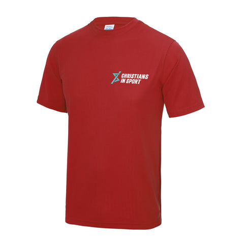 Sports Plus 2019 Mens T-Shirt | Red