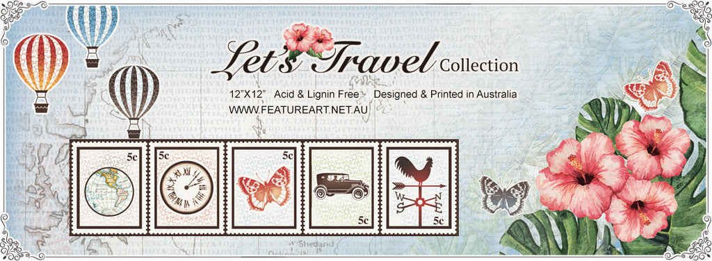 Let's Travel Collection New Release