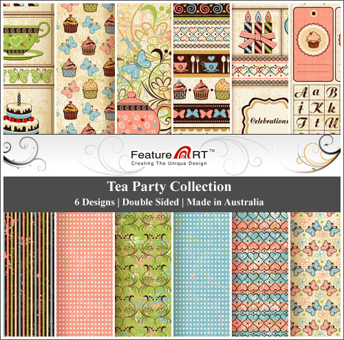 "Tea Party 12"" Paper Pack"
