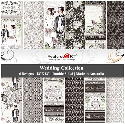 "Wedding 12"" Paper Pack"