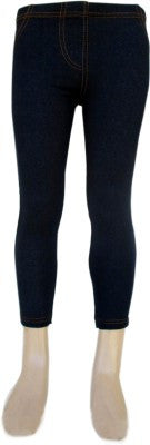 Trendsera Girls' Blue Jeggings