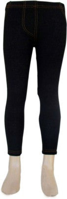 Trendsera Girls' Black Jeggings