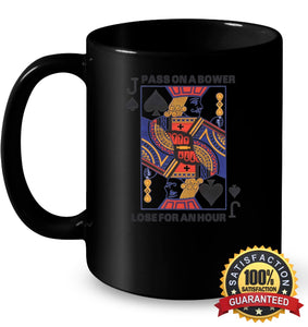 Euchre Shirt 11Oz Ceramic Mug / Black One-Size Apparel