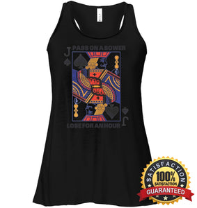 Euchre Shirt Bella Womens Flowy Tank / Black S Apparel