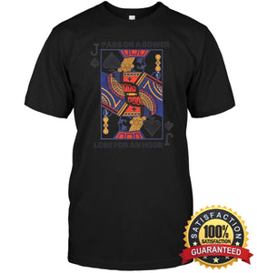 Euchre Shirt Unisex Short Sleeve Classic Tee / Black S Apparel