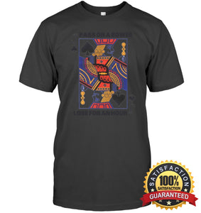 Euchre Shirt Unisex Short Sleeve Classic Tee / Charcoal Heather S Apparel