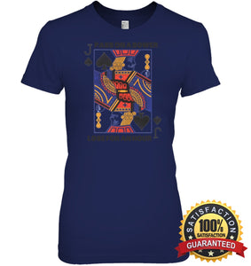Euchre Shirt Womens Relaxed Fit Tee / Navy S Apparel