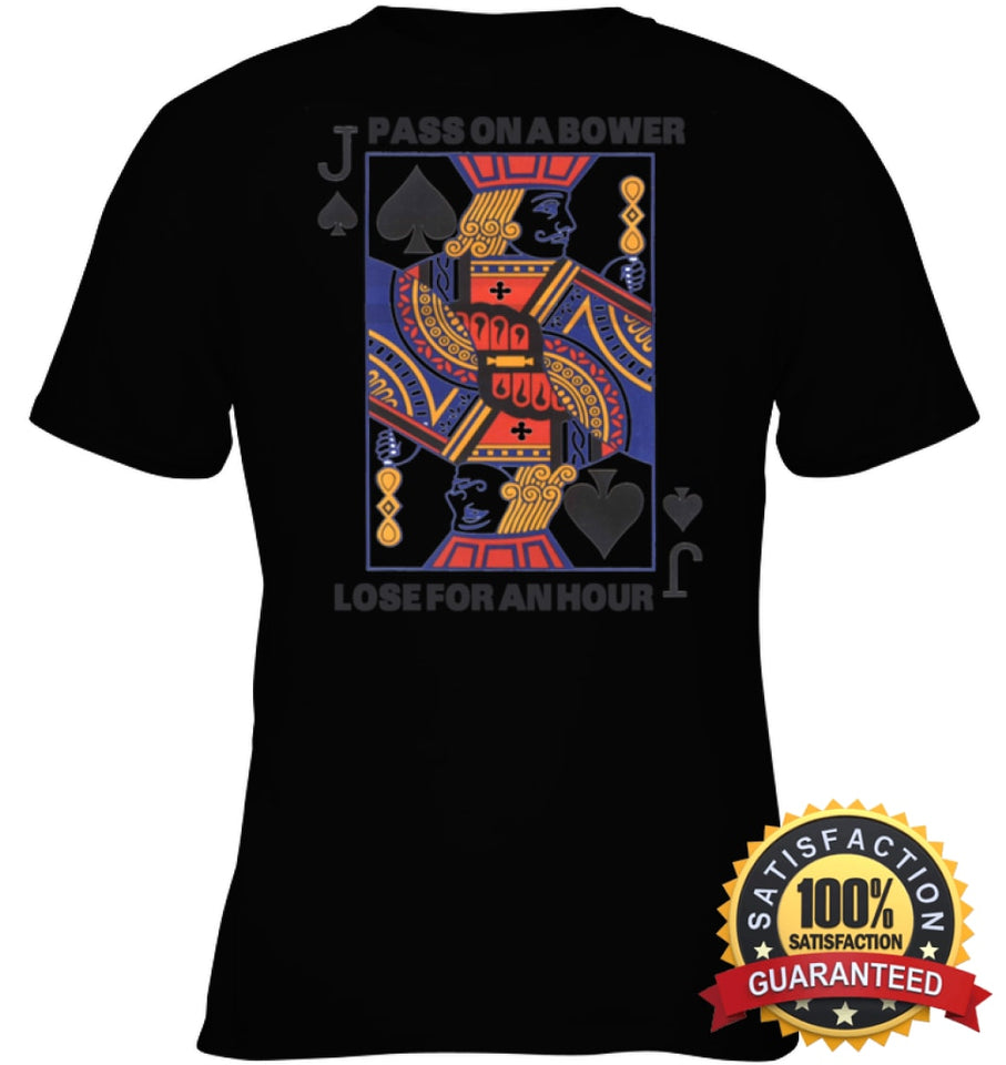 Euchre Shirt Youth Classic Tee / Black Xs Apparel